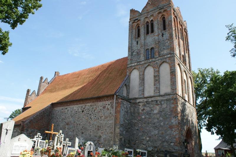 Kościół parafialny w Dębowej Łące
