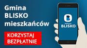 Aplikacja BLISKO-infografika