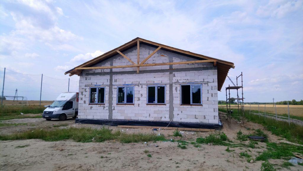 Postęp prac budowlanych