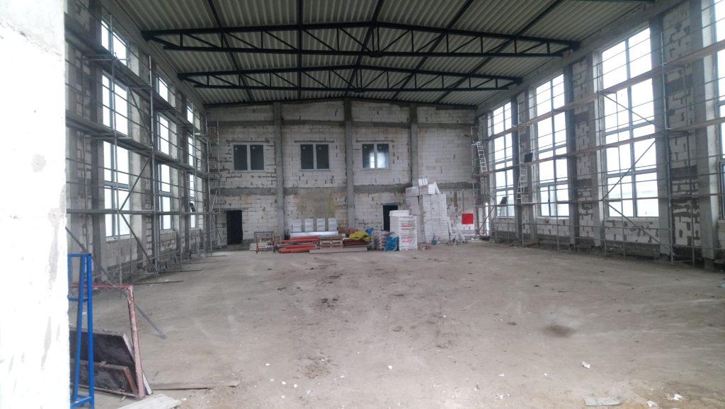 Wnętrze sali sportowej