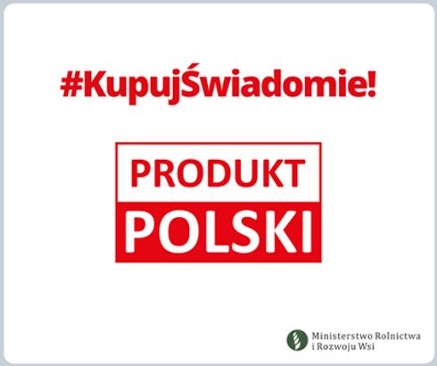 Logo-kampania kupuj świadomie produkt polski