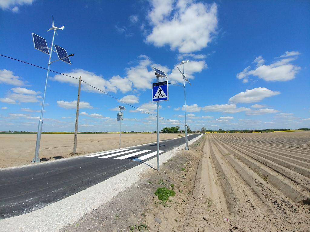 Infrastruktura towarzysząca - przejście dla pieszych