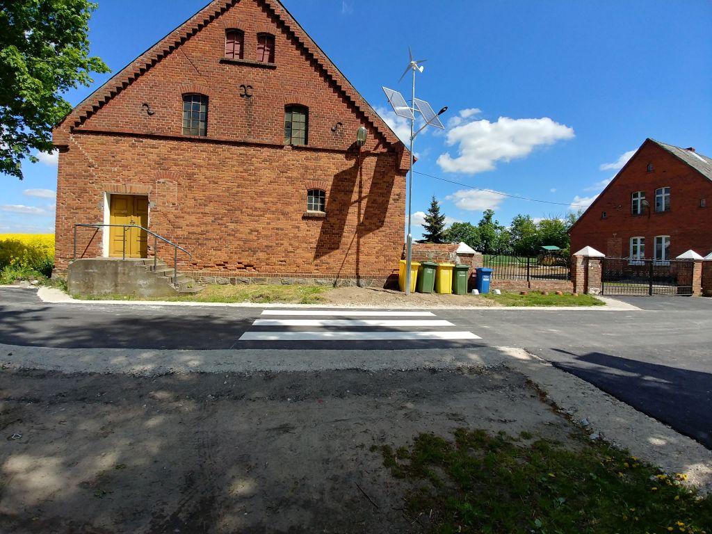 Elementy bezpieczeństwa - przejście dla pieszych