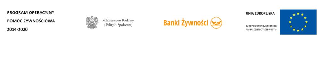 logo Program Operacyjny Pomoc Żywnościowa 2014-2020 [POPŻ]