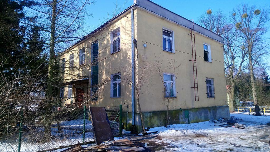 Budynek przed modernizacją